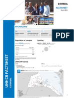 UNHCR Eritrea - Operation Fact Sheet - March 2015