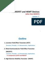 Lecture 7 Jfet Mesfet Hemt1