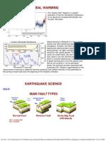 Glob Warm Earthquakes Landslides