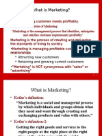 Marketing Unit 1