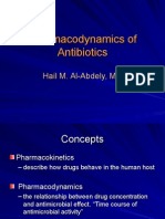 Pharmacodynamics of Antibiotics