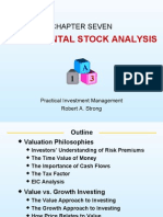 Practical Investment Management by Robert.A.Strong slides ch07