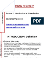 Lecture_2 _Introduction to Urban Design