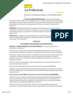 2003 Codigo de Etica Profesional Ingenierias