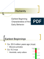 Origins of Humanity