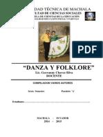 Modulo de Danza Folklorica  Ecuatoriana