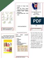 Leaflet Osteoarthritis
