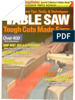 Table Saw - Tough Cuts Made Easy
