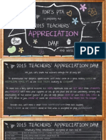 teachers appreciation day 2015 monday messenger