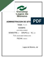 Administeacion de Sitios Web