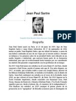 Jean Paul Sartre - Biografía,Obras,Filosofía