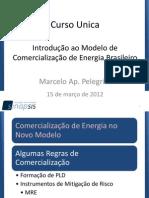 Introdução Modelo Comercialização Energia Brasil