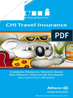 Gallipoli Cruise 2015 Travel Insurance