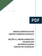 Lista de Medicamentos Por Grupo Farmacologico