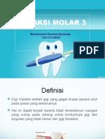 Impaksi Molar 3