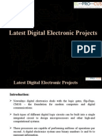 Latest Digital Electronic Projects