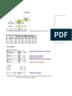 Calcul fundatii izolate