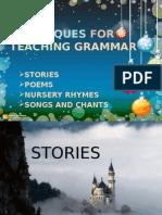 Techniques for Teaching Grammar