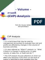 6. CVP Analysis