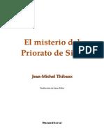 Thibaux Jean Michel - El Misterio Del Priorato de Sion