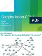 Complex Lab for CCNA