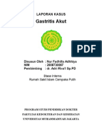 Gastritis Akut Lapkas