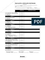 Protocolo Calificación Bender