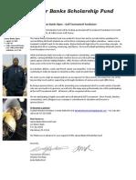 Golf Sponsorship Letter