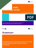 Prezentare  Erasmus E+