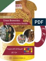 Ursus Breweries Raport Dezvoltare Durabila 2014 Romana