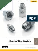 Komatsu Style Adapters