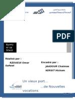 Parois Moulée - Port de Plaisance de Tanger