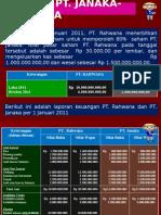 Akuntansi Keuangan Lanjutan Latihan Afiliasi Laba & Dividen