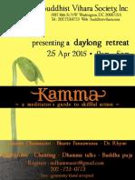 D.C. Vihara 2015 April 25 Day Of Mindfulness