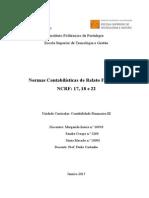Normas Contabilísticas de Financeiro
