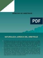 DERECHO DE ARBITRAJE