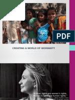 Natascha Vega-Pertuz's TIE Case Study - Grey NY & The Womanity Foundation
