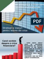 Efectele Crizei Economice Si Financiare Asupra Grupurilor Multinationale