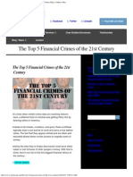 Top 5 Financial Crimes of the 21st Century _ FINRA Attorney Blog _ Andrew Ma