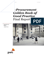 e Procurement Golden Book of Good Practice En