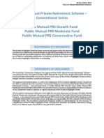 Public Mutual Private Retiremenent Scheme Producthighlight