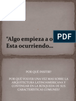 anàlisis arquitectura latinoamericana