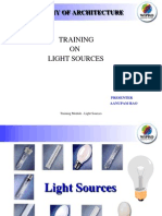 Training - Light Sources