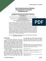 Generationof InfantAnatomicalModels for Evaluating Electromagnetic Field Exposures