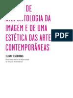 Uma Ontologia da Imagem e de uma Estética das Artes Contemporâneas