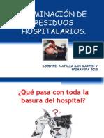 Eliminación de Residuos Hospitalarios