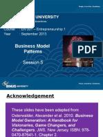 P05 en 001 Business Model Patern