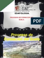 Procesos de Formación Del Suelo.