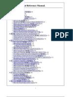 MySQL Technical Reference Manual.