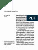 Pathogenesis of OA